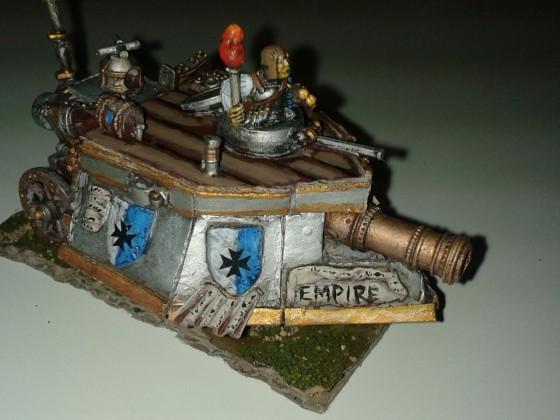 Empire of Sonnstahl steel tank 2