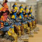 Komainu with Red Samurai Champion (aka Electoral Cavalry/Knightly Order)