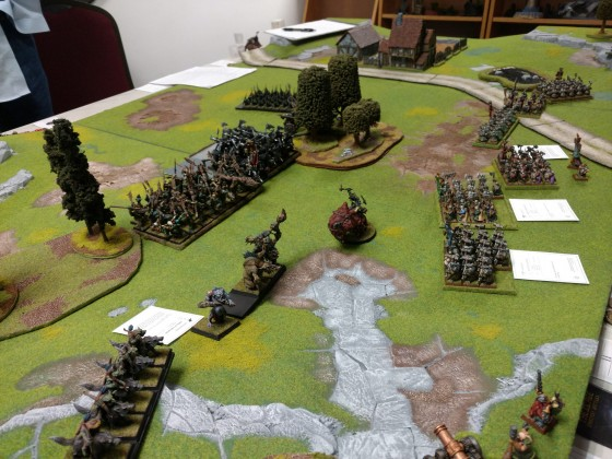 9th Age battle report:  The Battle of Hothgart's Farm