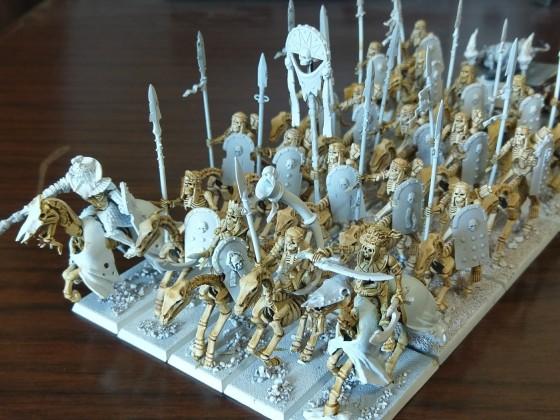 Skeletal cavalry