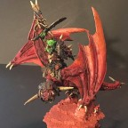 Orc lord on Wyvern
