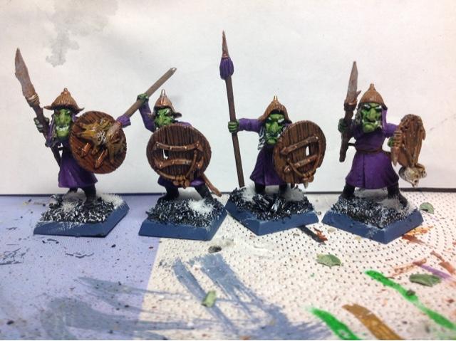 Mongol inspired hobgoblins -Mongoblins