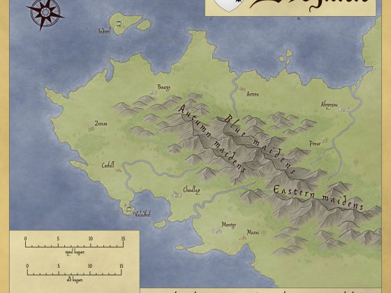 Map of Brezann