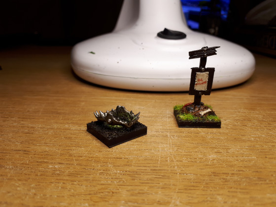 Unit filler and Standard Bearer