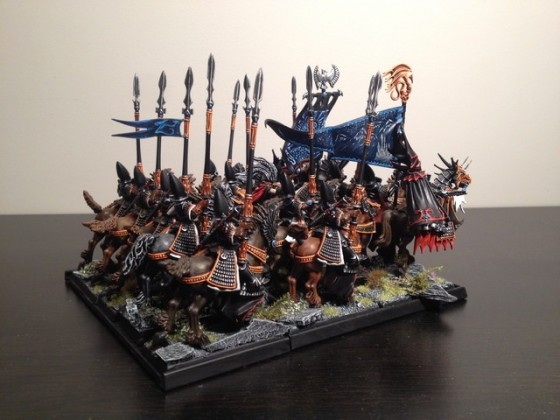 Elven Heavy Cavalry with Characters