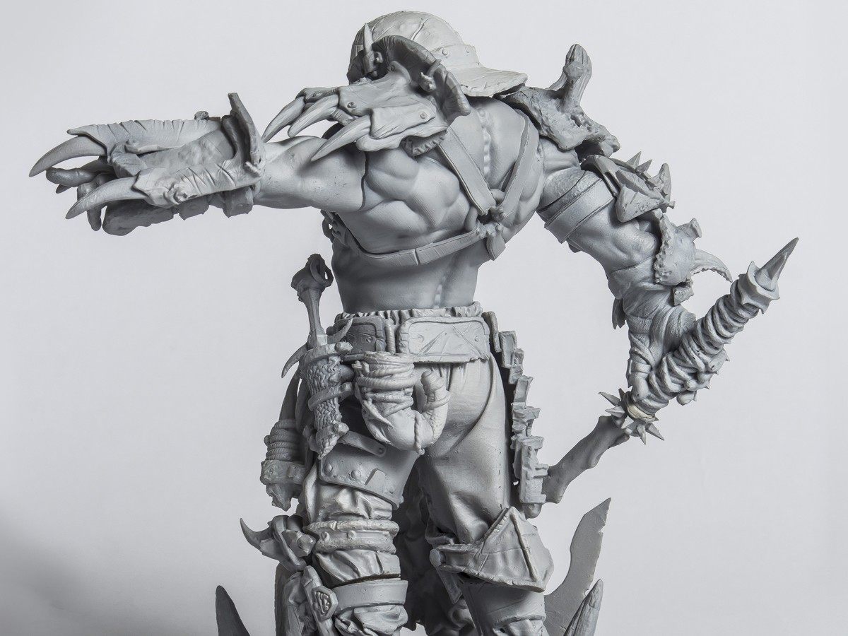 The biggest orc with stand 178 mm tall,