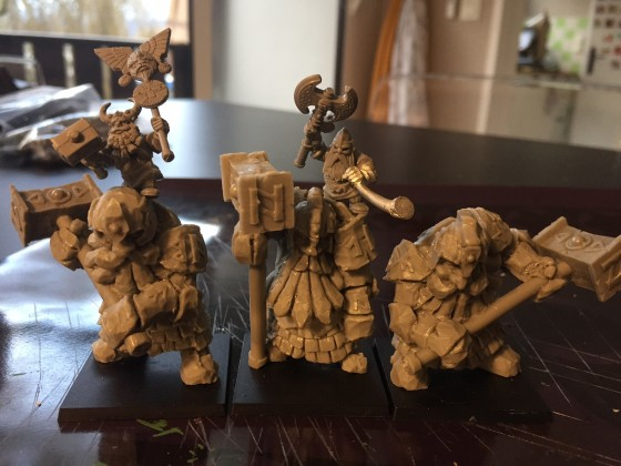 Hold Guardians, converted for musician and standard bearer