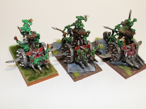 Games Workshop Snotling Scrap Wagon