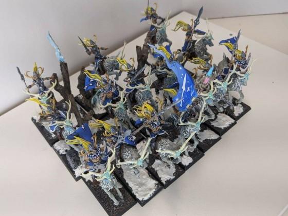 Sylvan Elf Wild Huntsmen (unit)