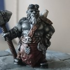 Scibor miniatures blacksmith as Anvil of Power