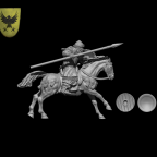 Almoravid Horseman by Caballero Miniatures