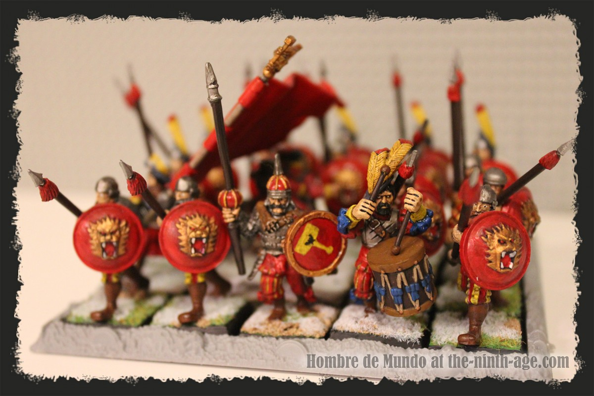 Heavy Infantry Battalion with Spears