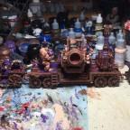 Infernal engine and artillery