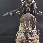 Beast lord on Razortusk chariot