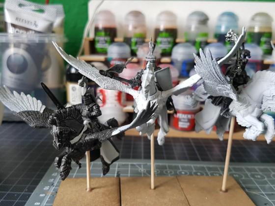 Pegasus Knights WIP