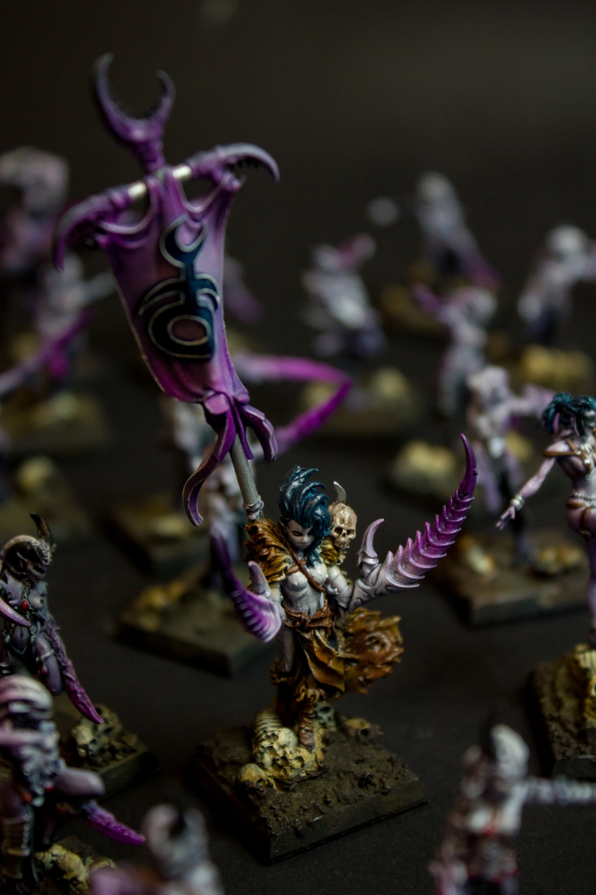 Daemonettes of Slaanesh, Conversion - Kings of War