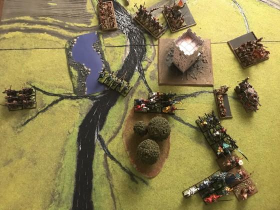 Baron de Celeste vs Commander Baumholz