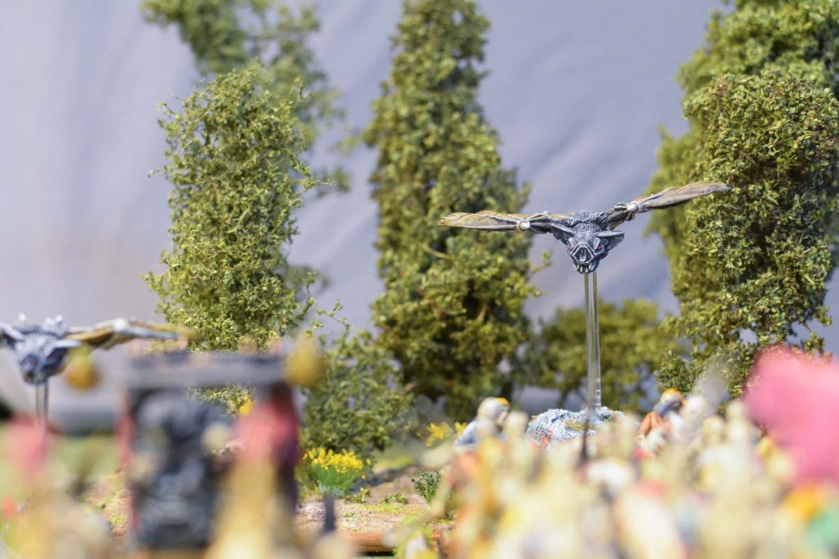 Bat in the field