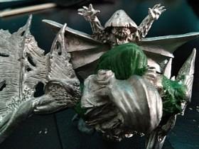 Fungoid Wyvern - Myconid Warlord (still missing weapon)
