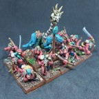 Skink Braves with bows