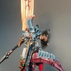 Barbarian Chieftain on a Shadow Chaser