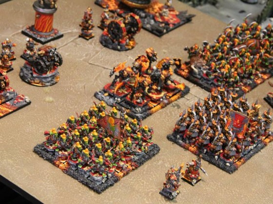 Infernal Dwarfs army shot 2