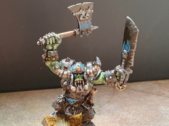 Orc boss warlord