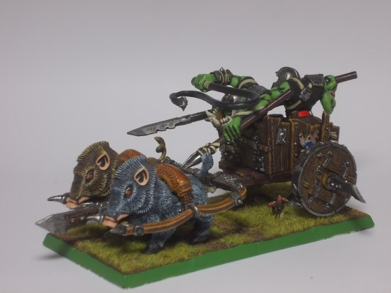 Orc Boar Chariot