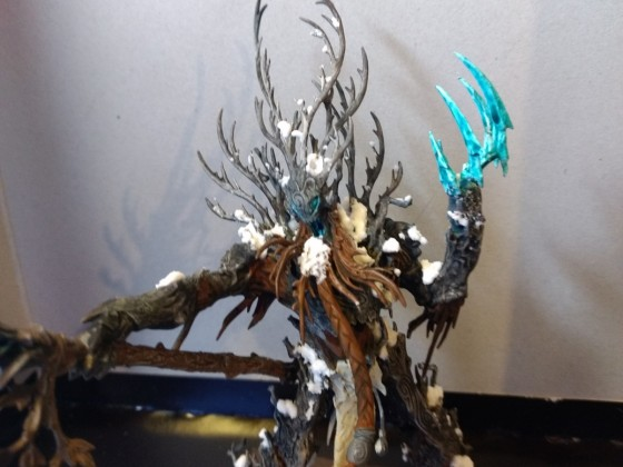 Winter Themed Forest Spirit Test