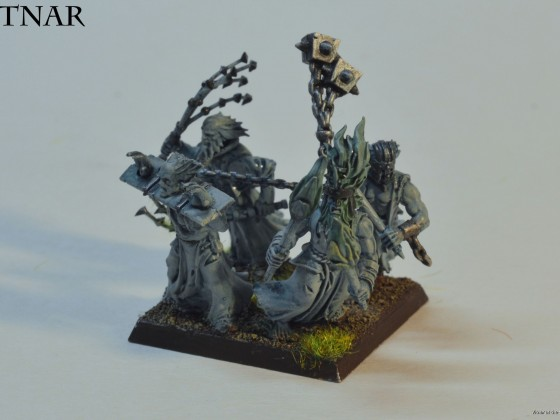Ghost Horde made from flagellants (mah buddy likes to convert).