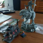 Alpha Carnosaur assembled