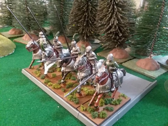Heavy cavalry slanted view