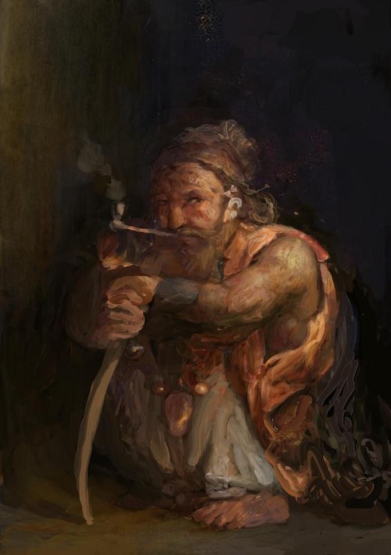Kegiz Gavem Concept D Mood Painting by Igor Levchenko