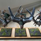 Me kestrels - first unit finished in the army!