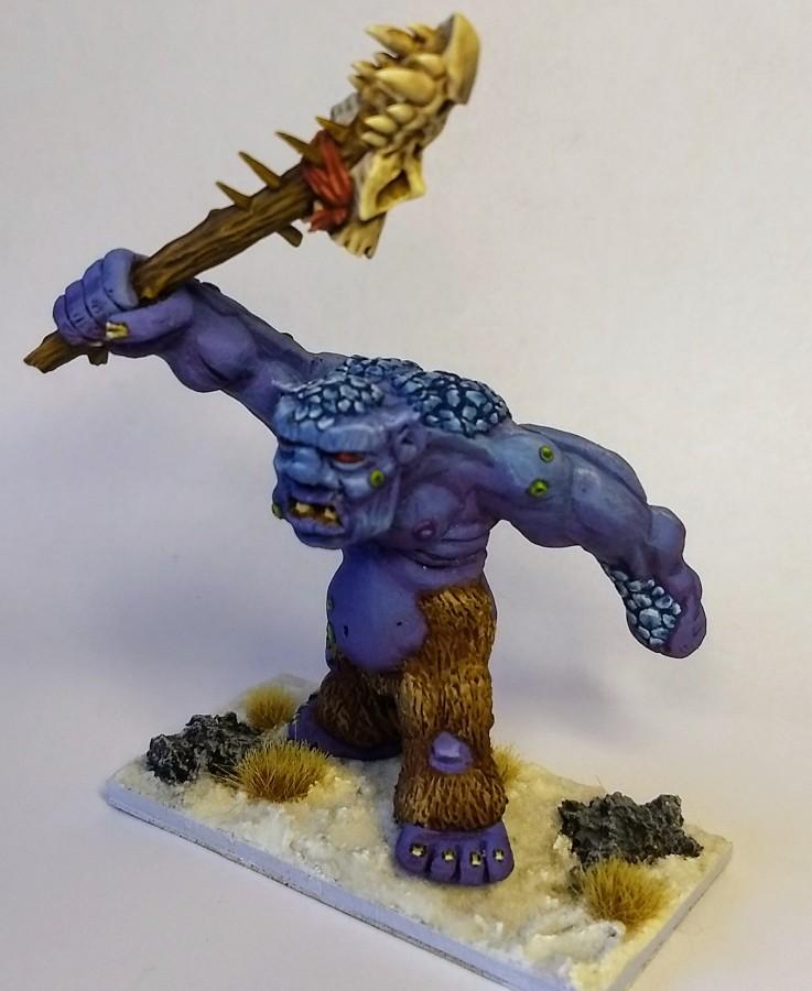 Troll, own sculpt