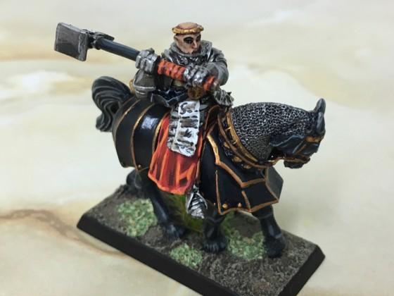 Mounted Prelate