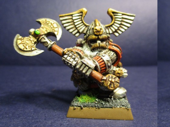 Dwarf Thane with Great Weapon