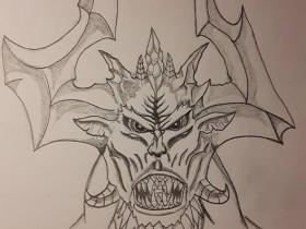 Scourge of Wrath Facial concept
