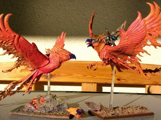 Second Fire Phoenix finished