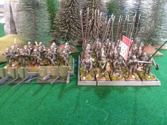 Spearmen and handgunners of Asylheim