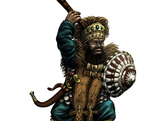 Kegiz Gavem Dwarf IV by Paulus Indomitus