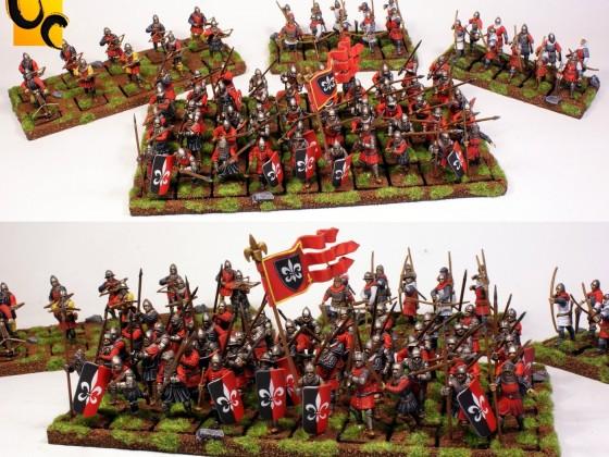 Peasant Men at Arms and Bowmen