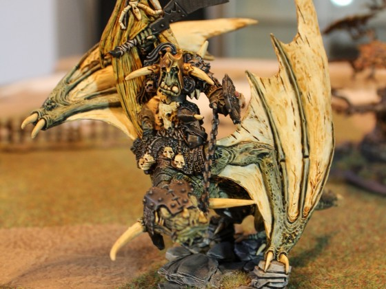 Orc Warboss on wyvern