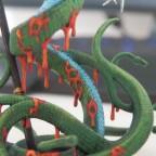 Medusas scaly skin