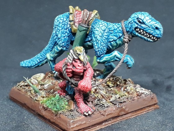 Skink Braves with bows -  Unit Filler
