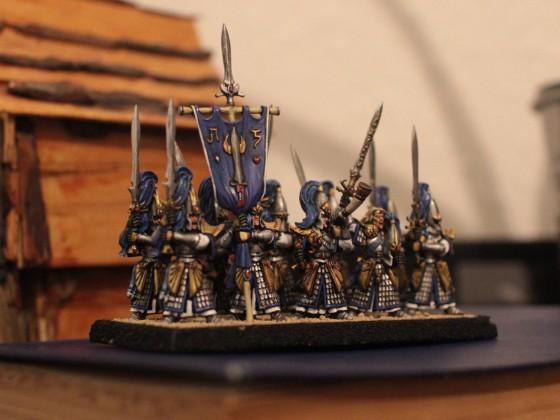 A fierce company of Sword Masters