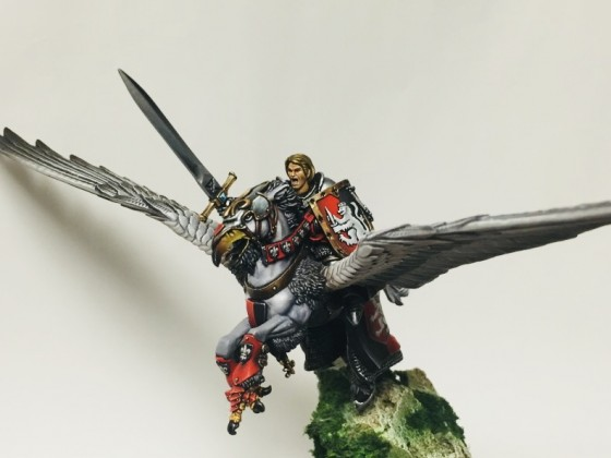 Baron Leon DuBlanc on Noble Begonia, Hippogryph of Equitaine