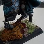 Dread Elves Prince on Steed base