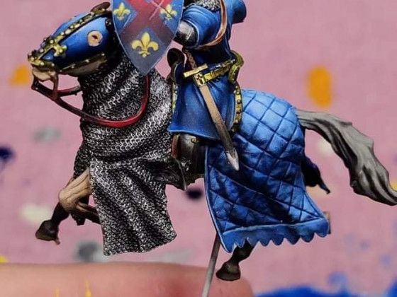 14th century Portuguese knight by Caballero Miniatures