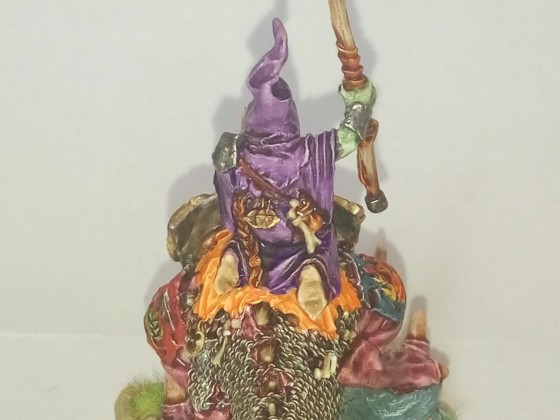Goblin Chief on Cave Gnasher